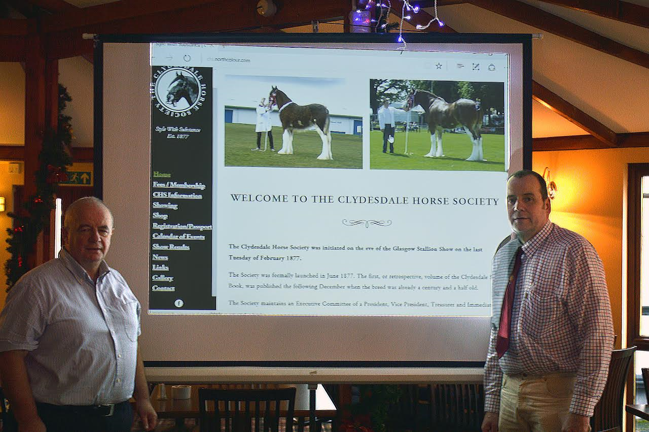 Website Collaboration - Clydesdale Horse Society and The Scottish Farmer Working Together